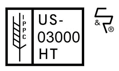 ISPM 15 stamp